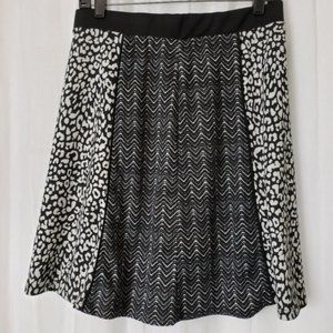 # Cato Flare Skirt Size Small Animal Prints
